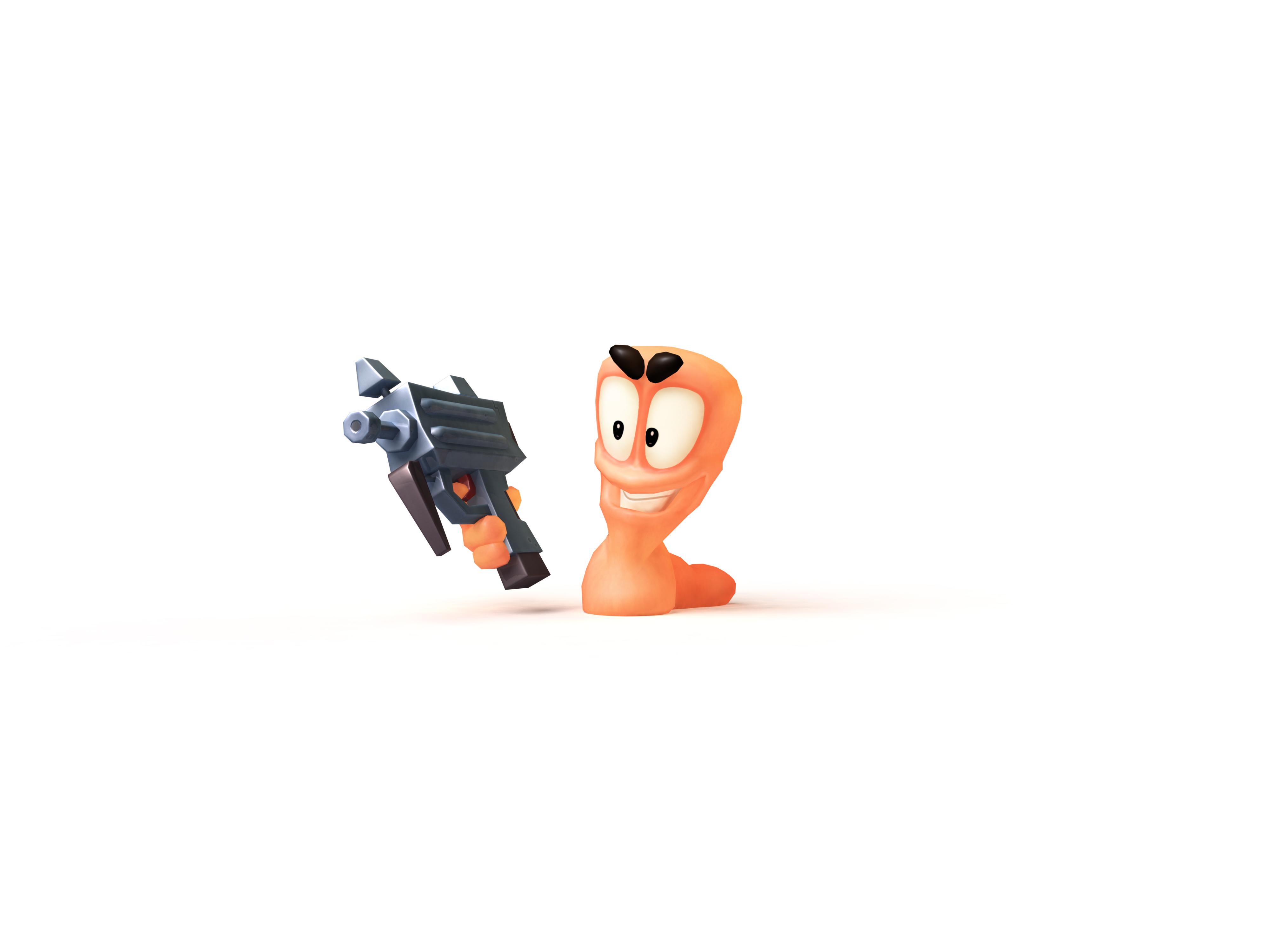 Artworky červů z Worms Revolution 64626