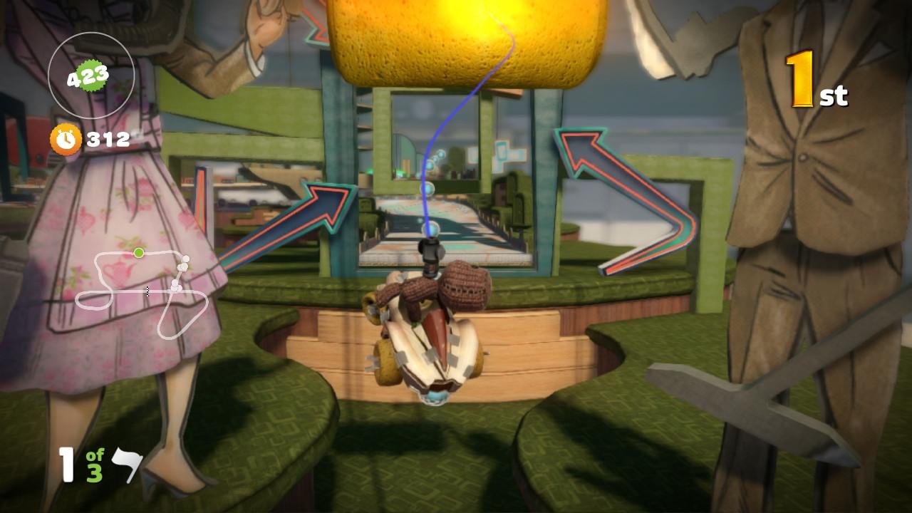 Nové obrázky z LittleBigPlanet Karting 64649