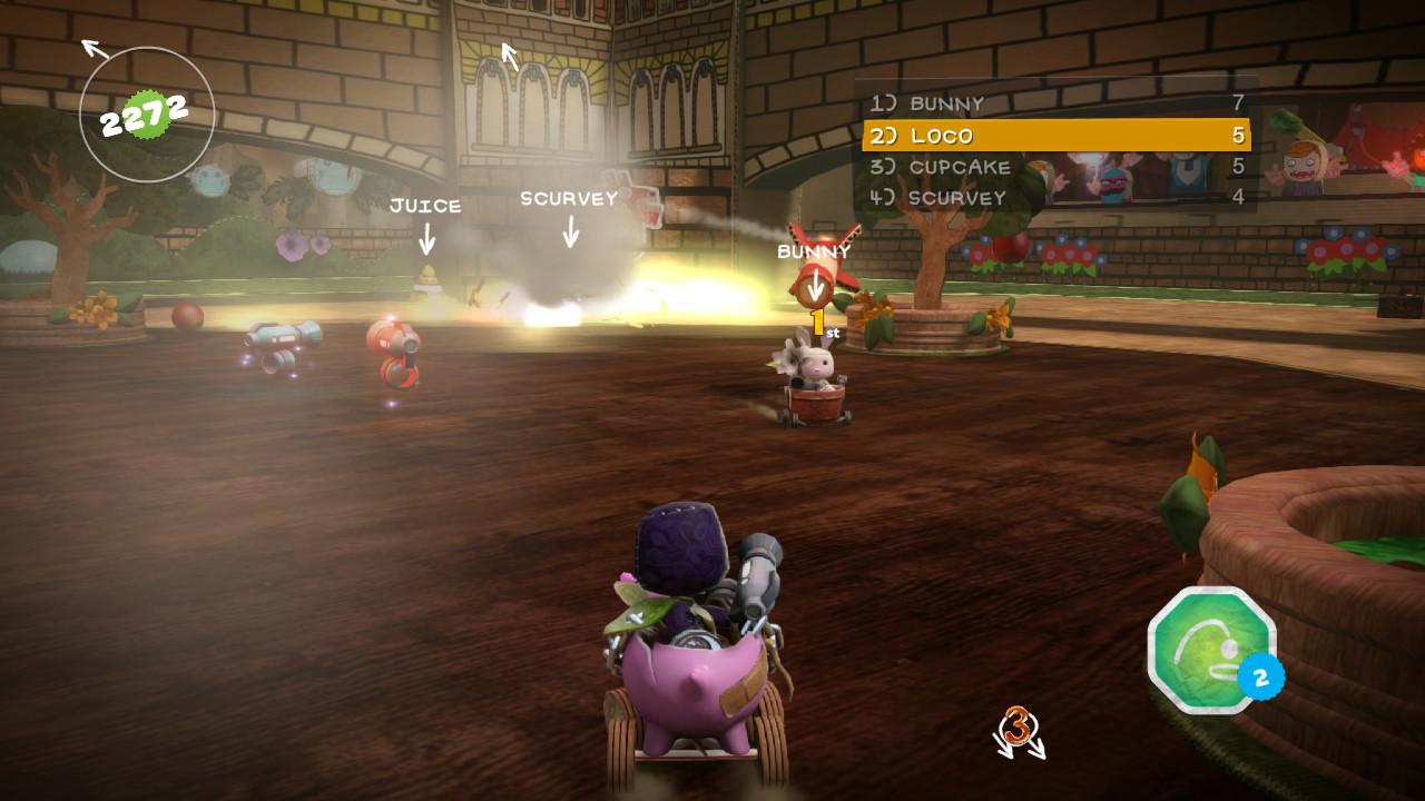 Nové obrázky z LittleBigPlanet Karting 64653