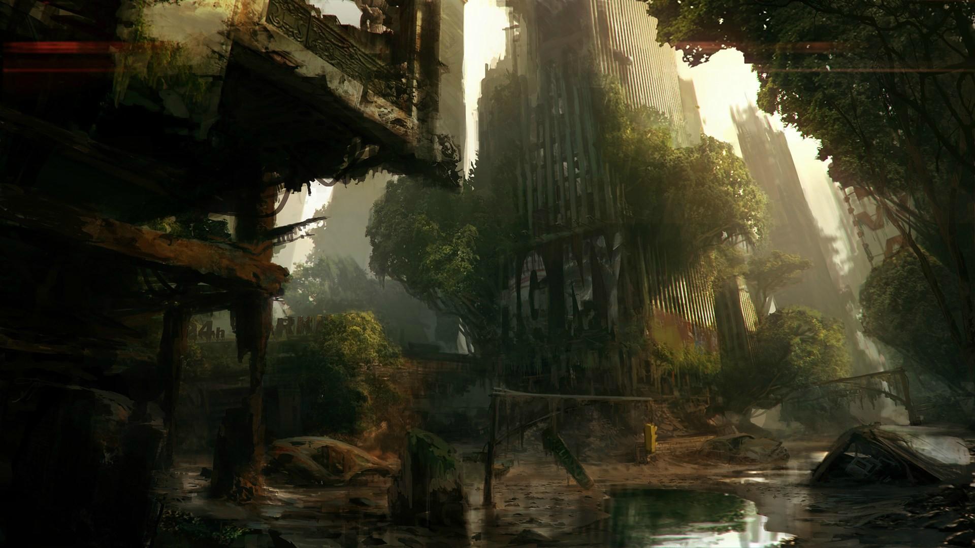 Nové obrázky z třetího Crysis 64712