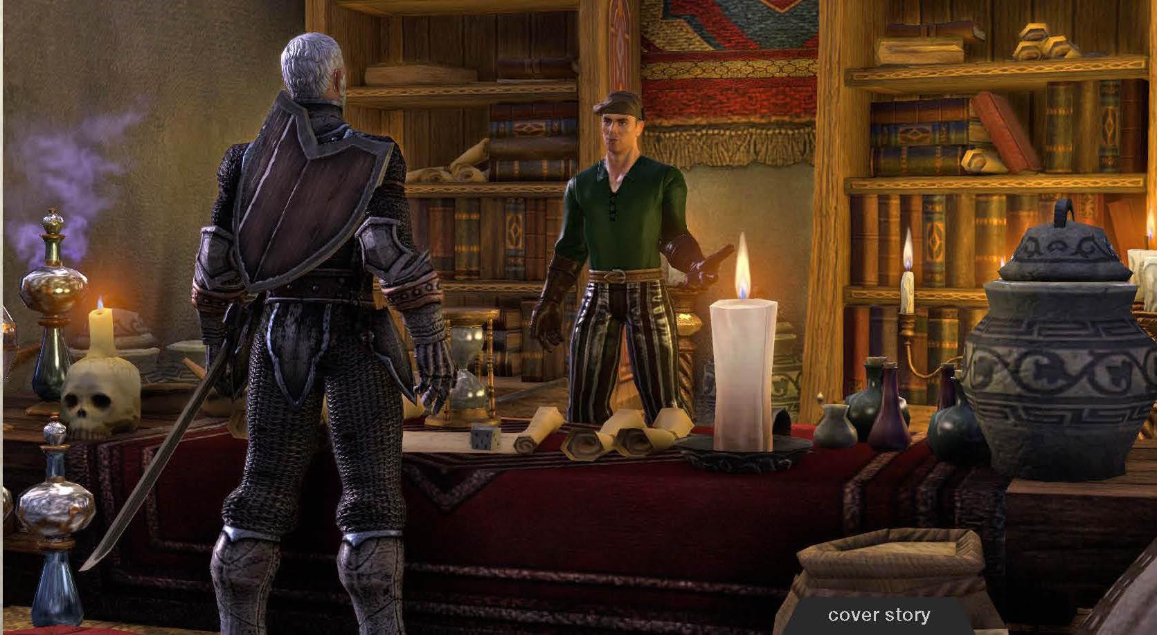První obrázky z Elder Scrolls Online 64732