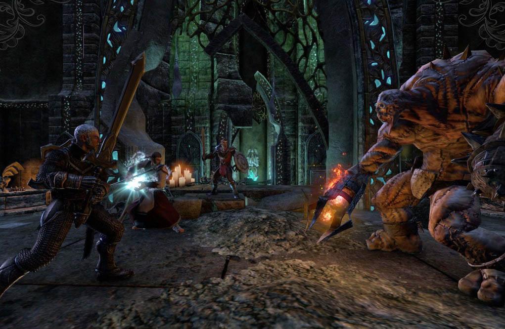 První obrázky z Elder Scrolls Online 64748