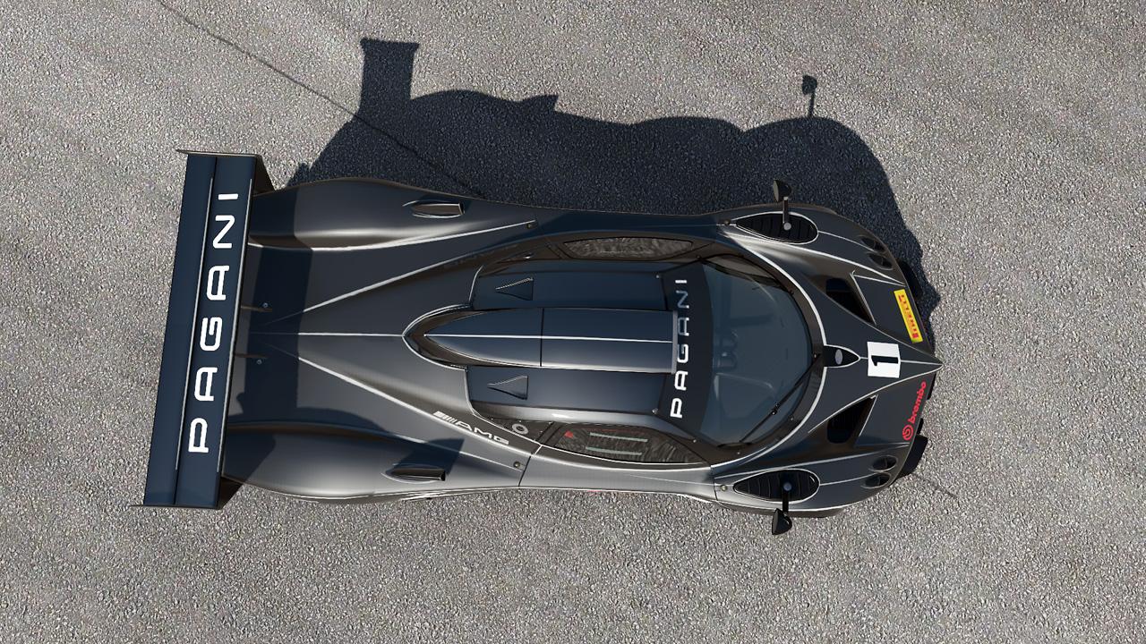Video a obrázky Pagani Zonda R z Project CARS 64855
