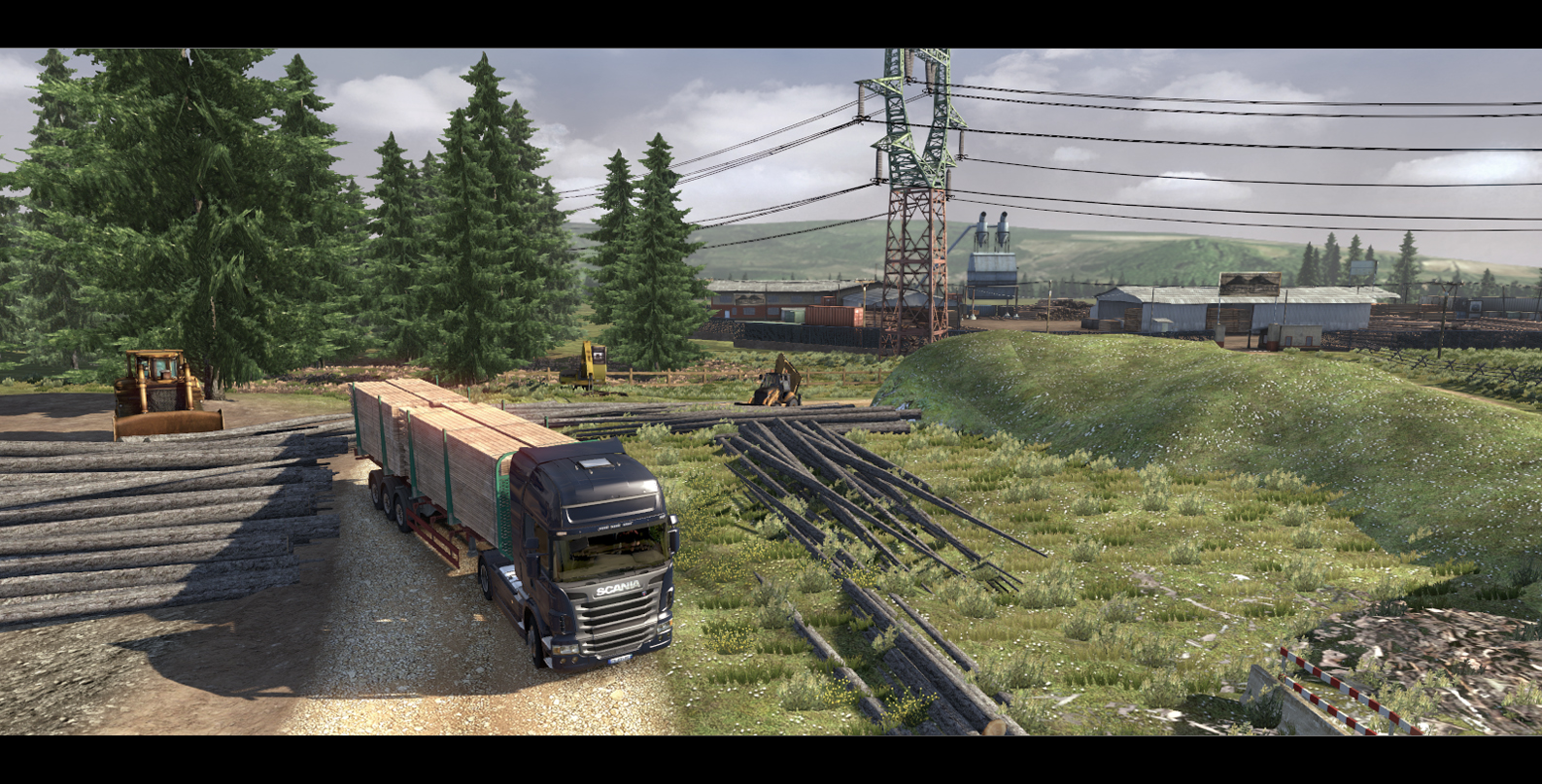 Obrázky ze Scania Truck Driving Simulator 65132