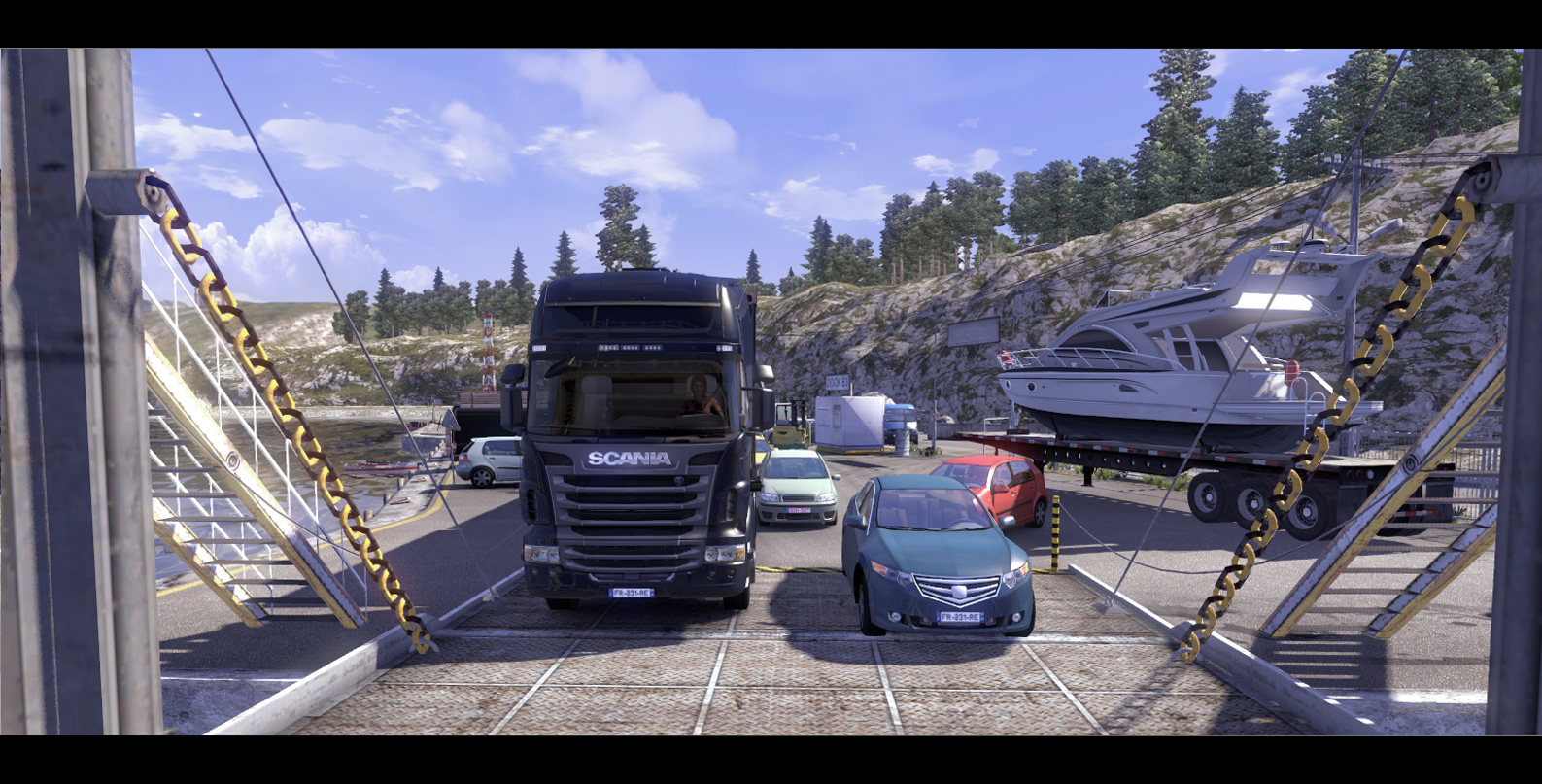Obrázky ze Scania Truck Driving Simulator 65135