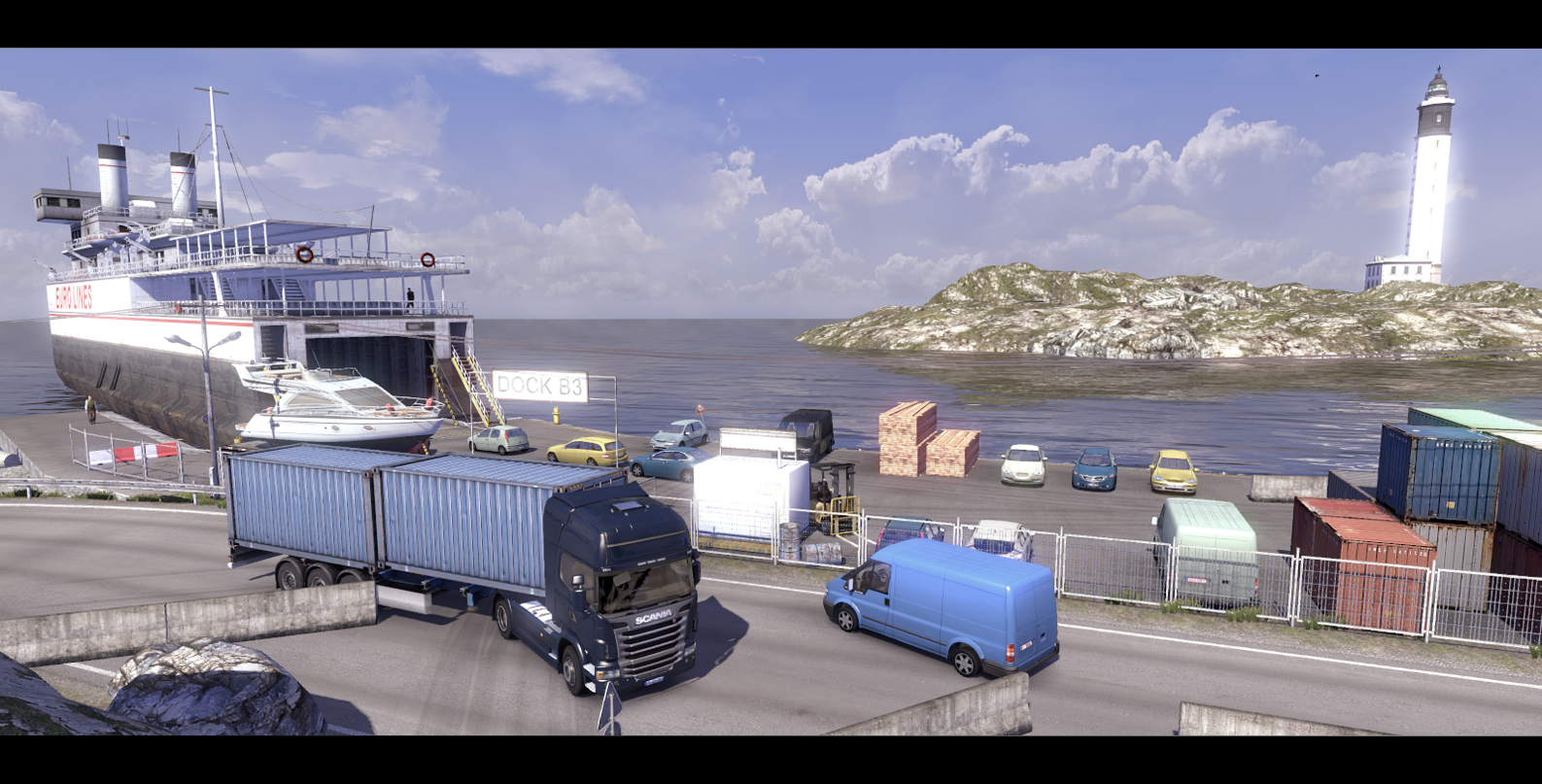 Obrázky ze Scania Truck Driving Simulator 65136