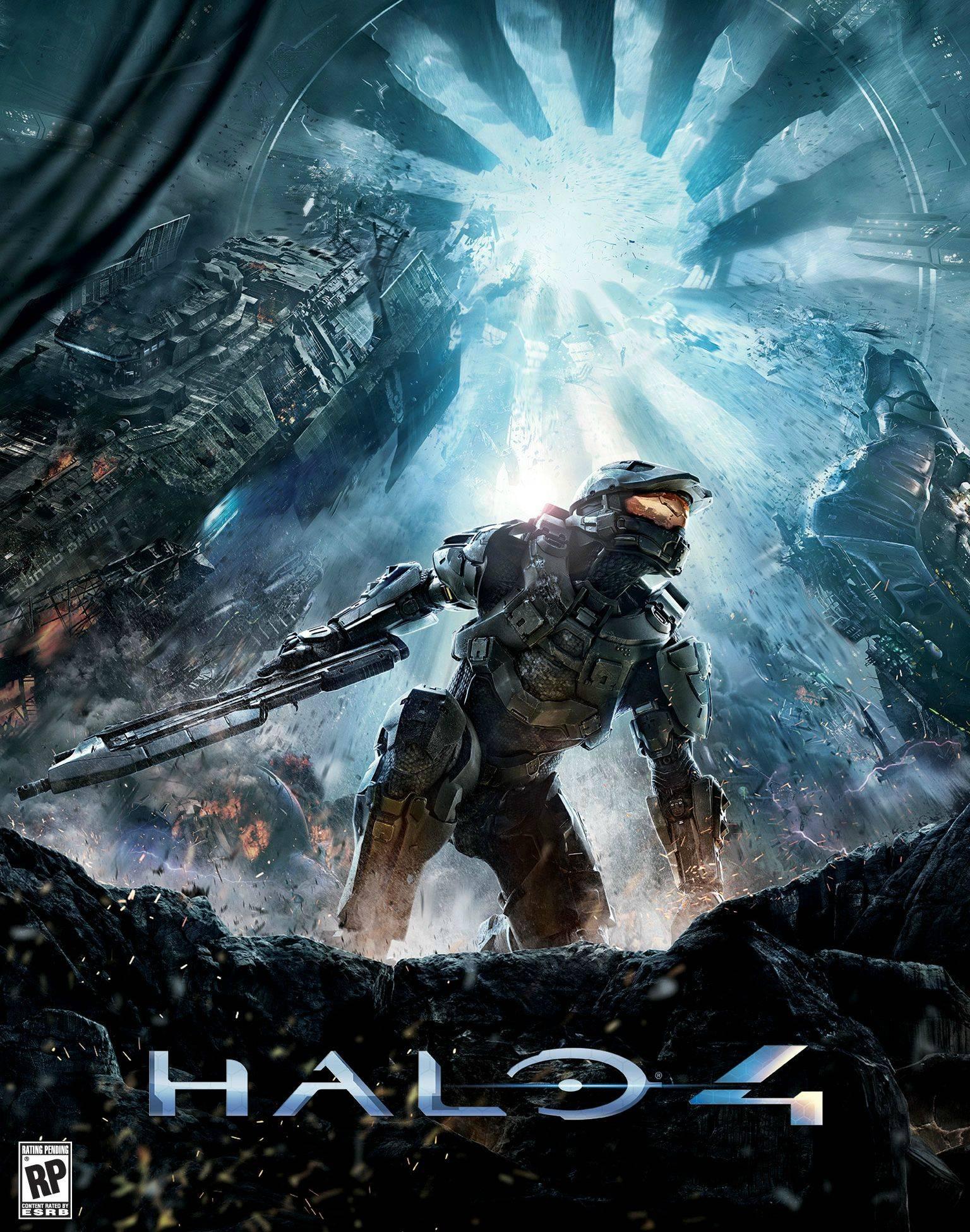 Odhalen obal Halo 4 65186