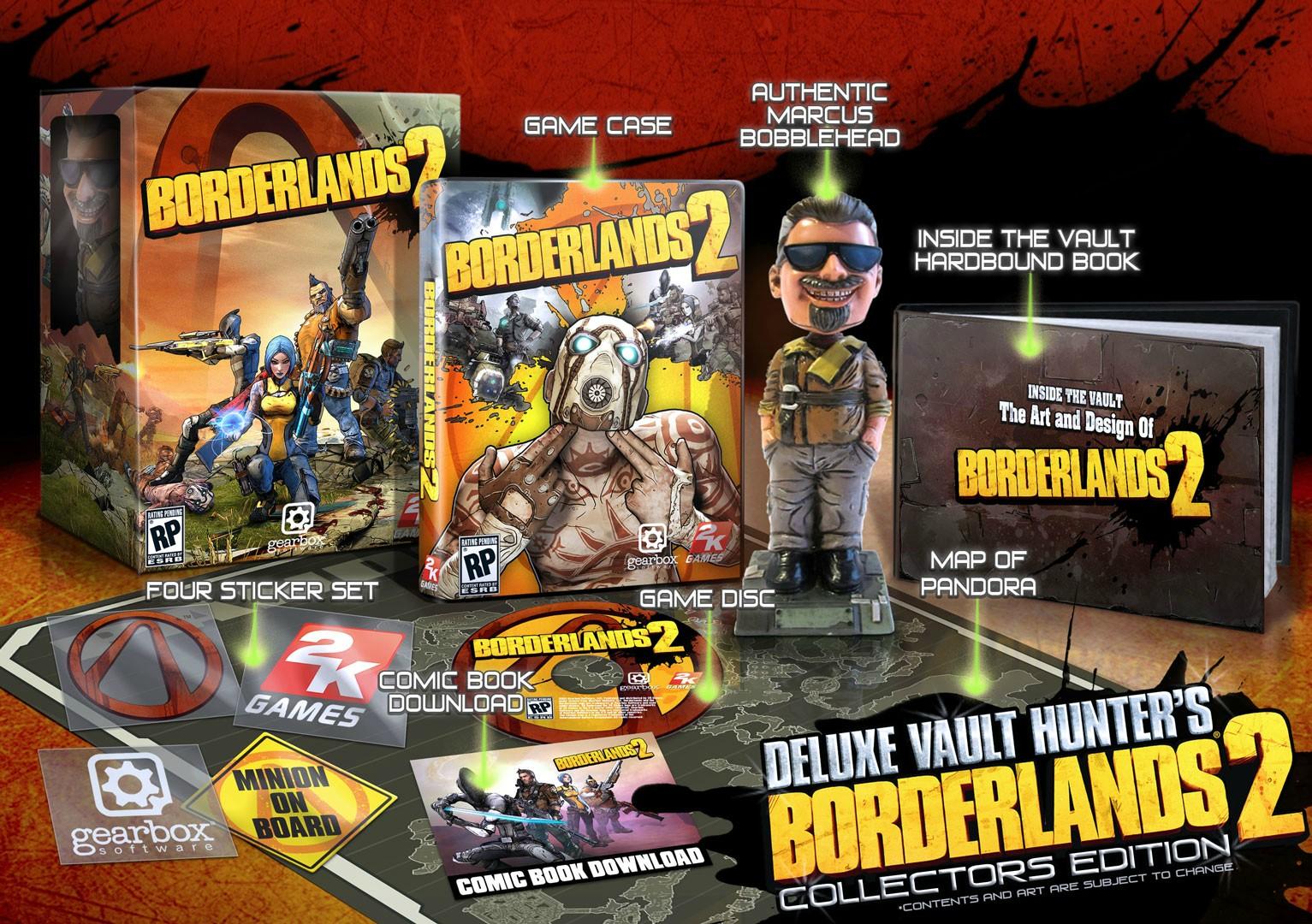 Odtajněn obal i speciálka Borderlands 2 65217