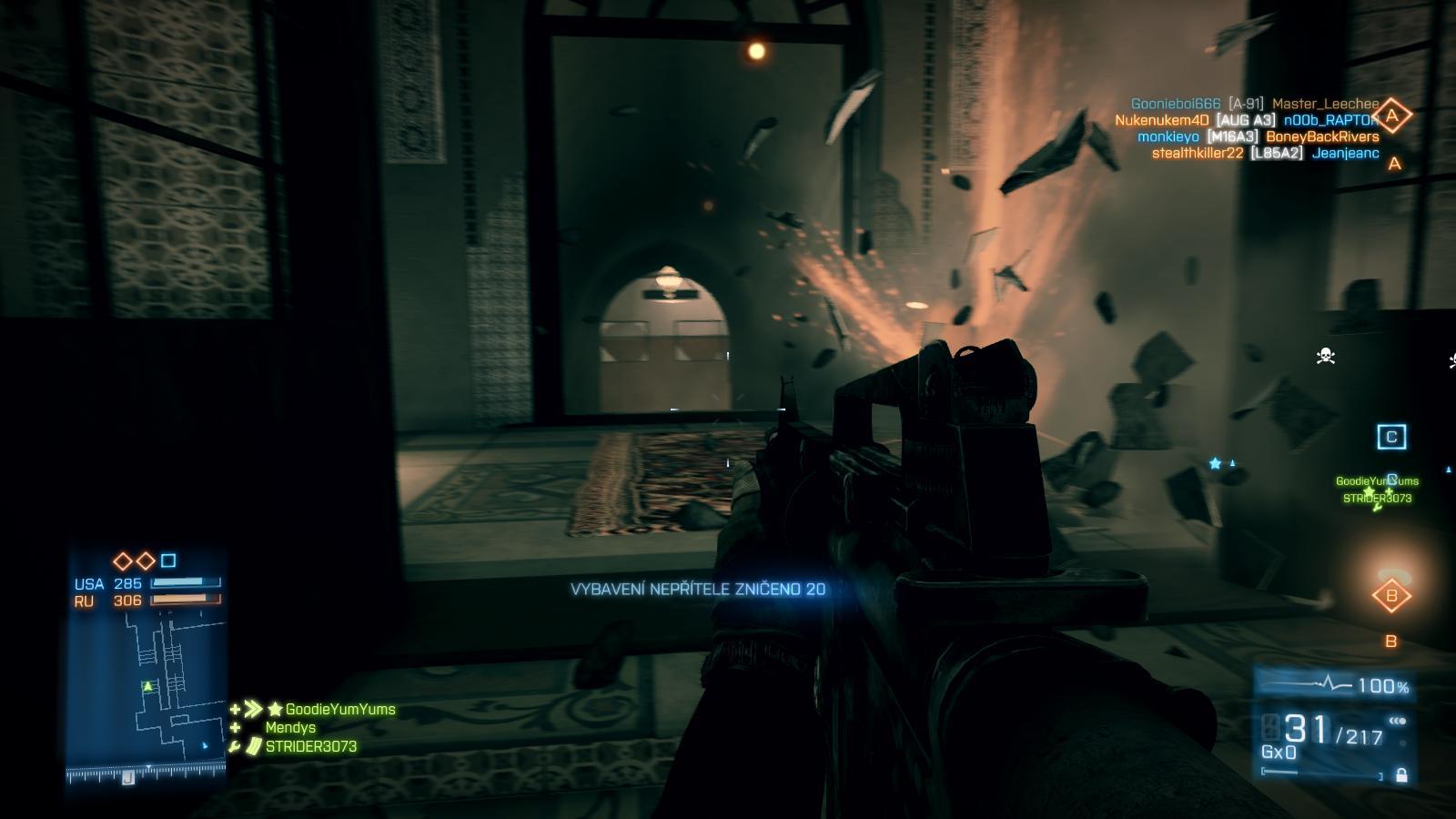 Battlefield 3: Close Quarters – z plání do chodeb 66855