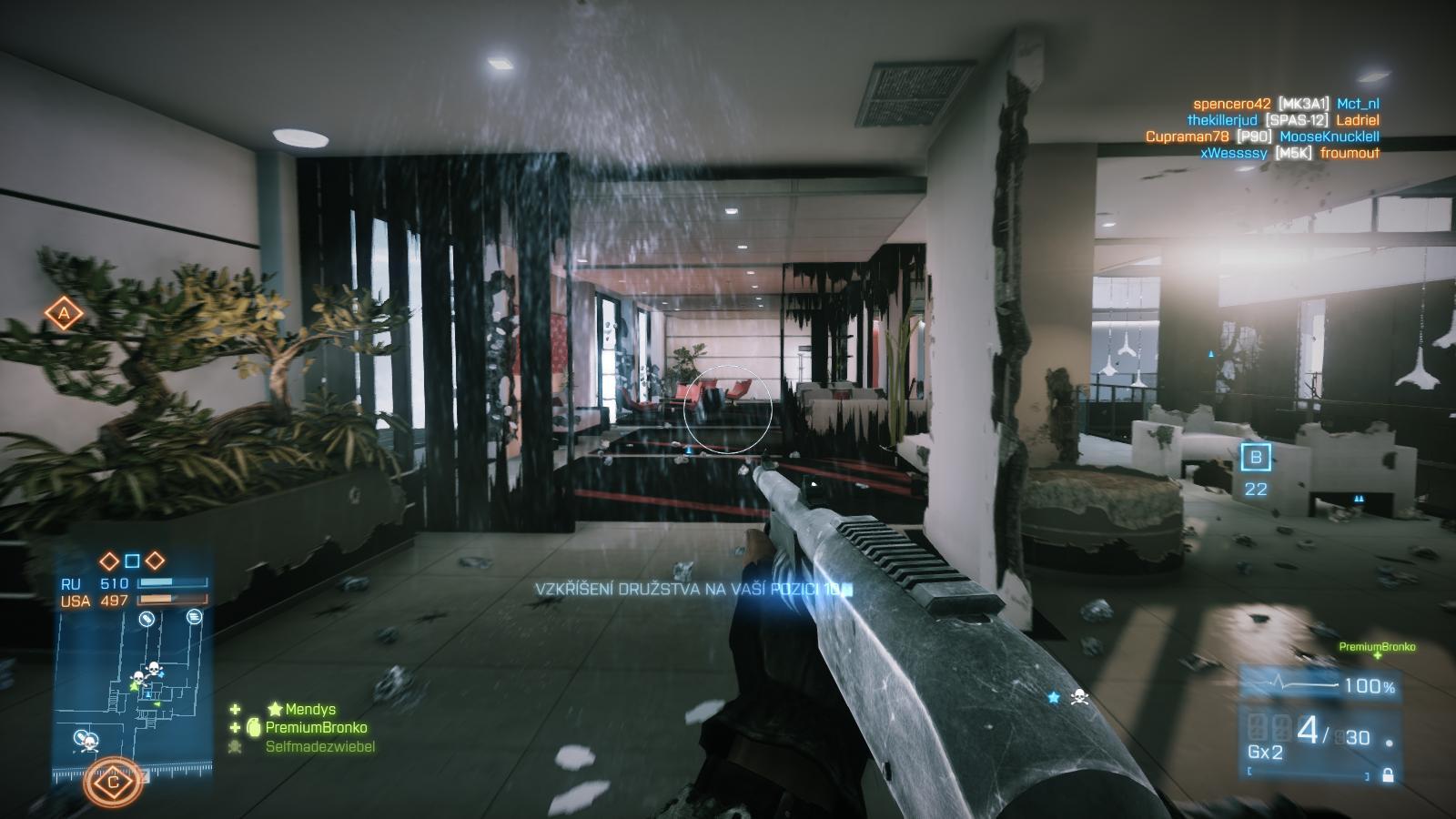 Battlefield 3: Close Quarters – z plání do chodeb 66861