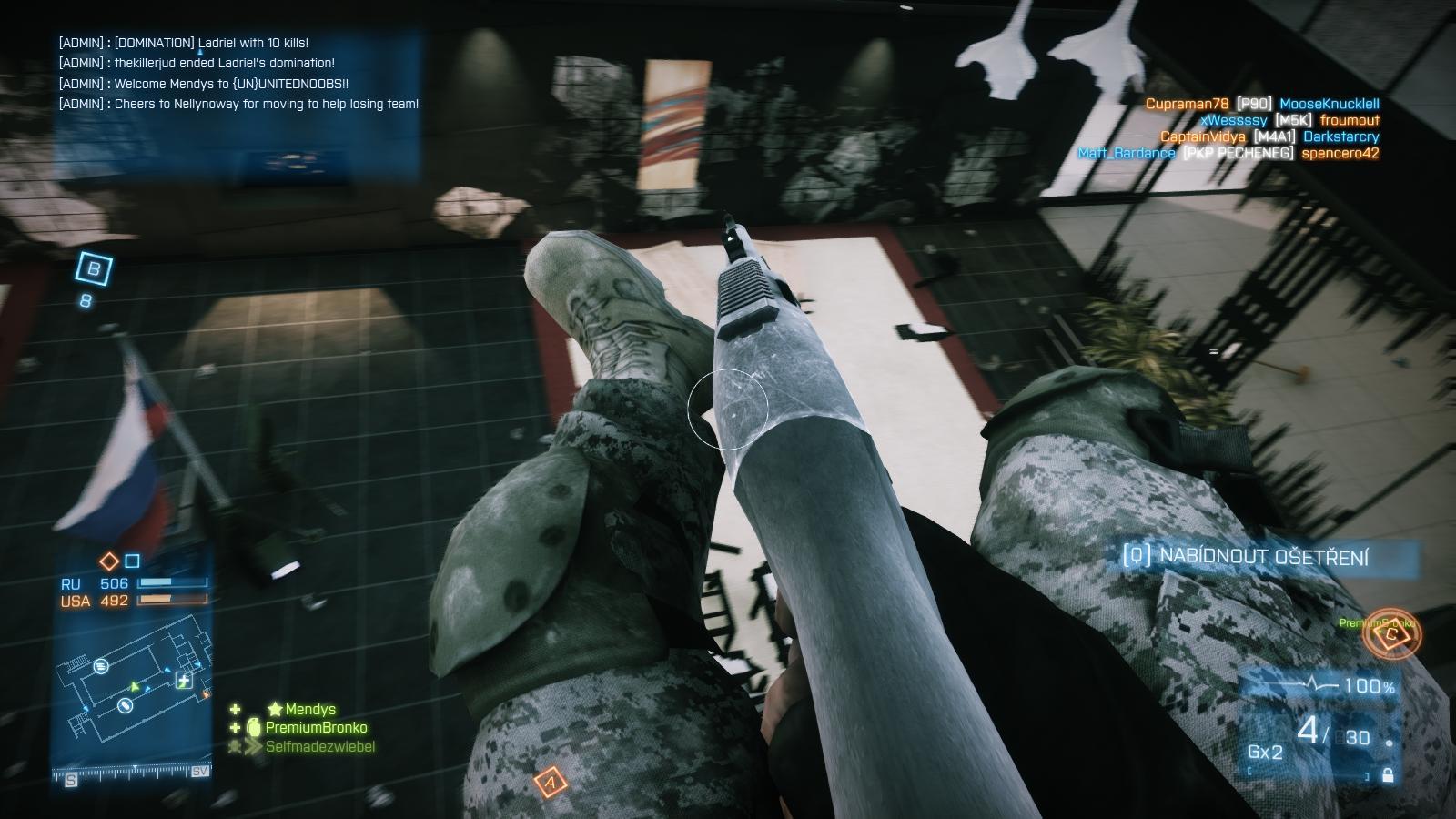 Battlefield 3: Close Quarters – z plání do chodeb 66862