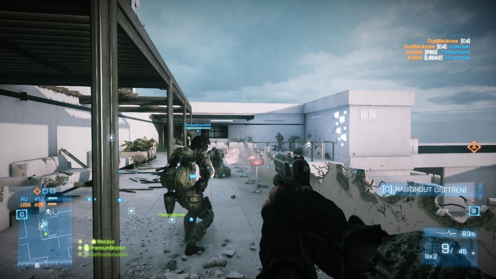 Battlefield 3: Close Quarters – z plání do chodeb 66869