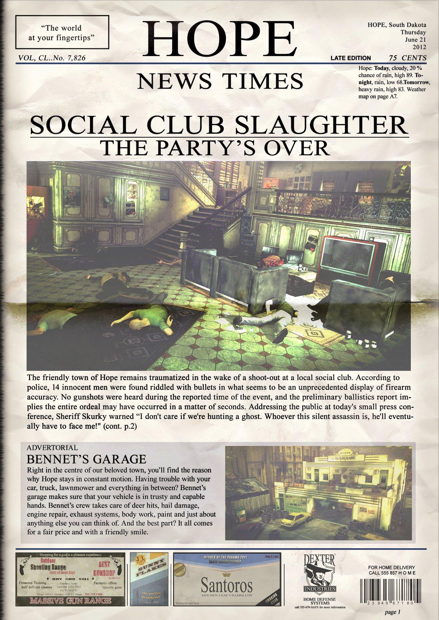 Agent 47 z Hitman: Absolution opět vraždí 66978