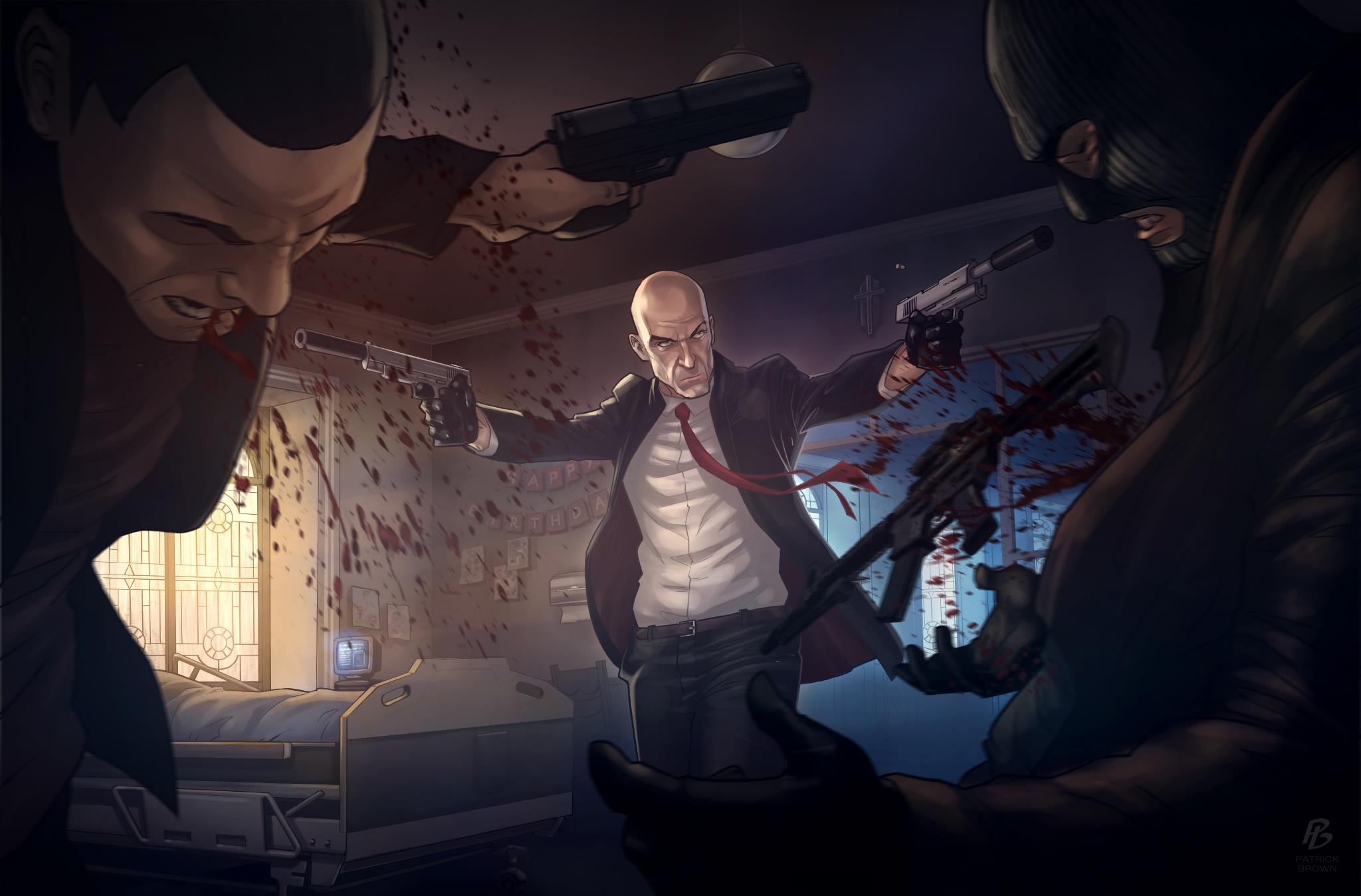 Agent 47 z Hitman: Absolution opět vraždí 66983