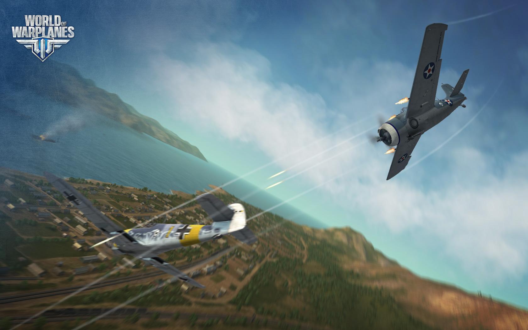 World of Warplanes s americkými letouny 67000