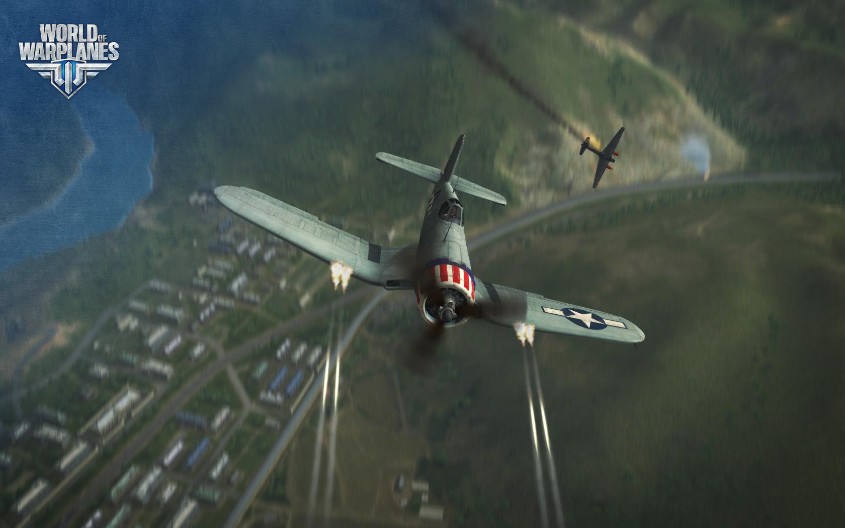 World of Warplanes s americkými letouny 67001