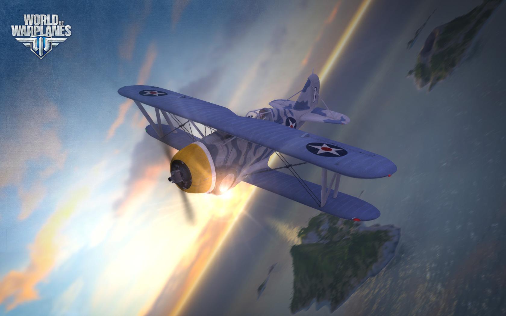 World of Warplanes s americkými letouny 67004