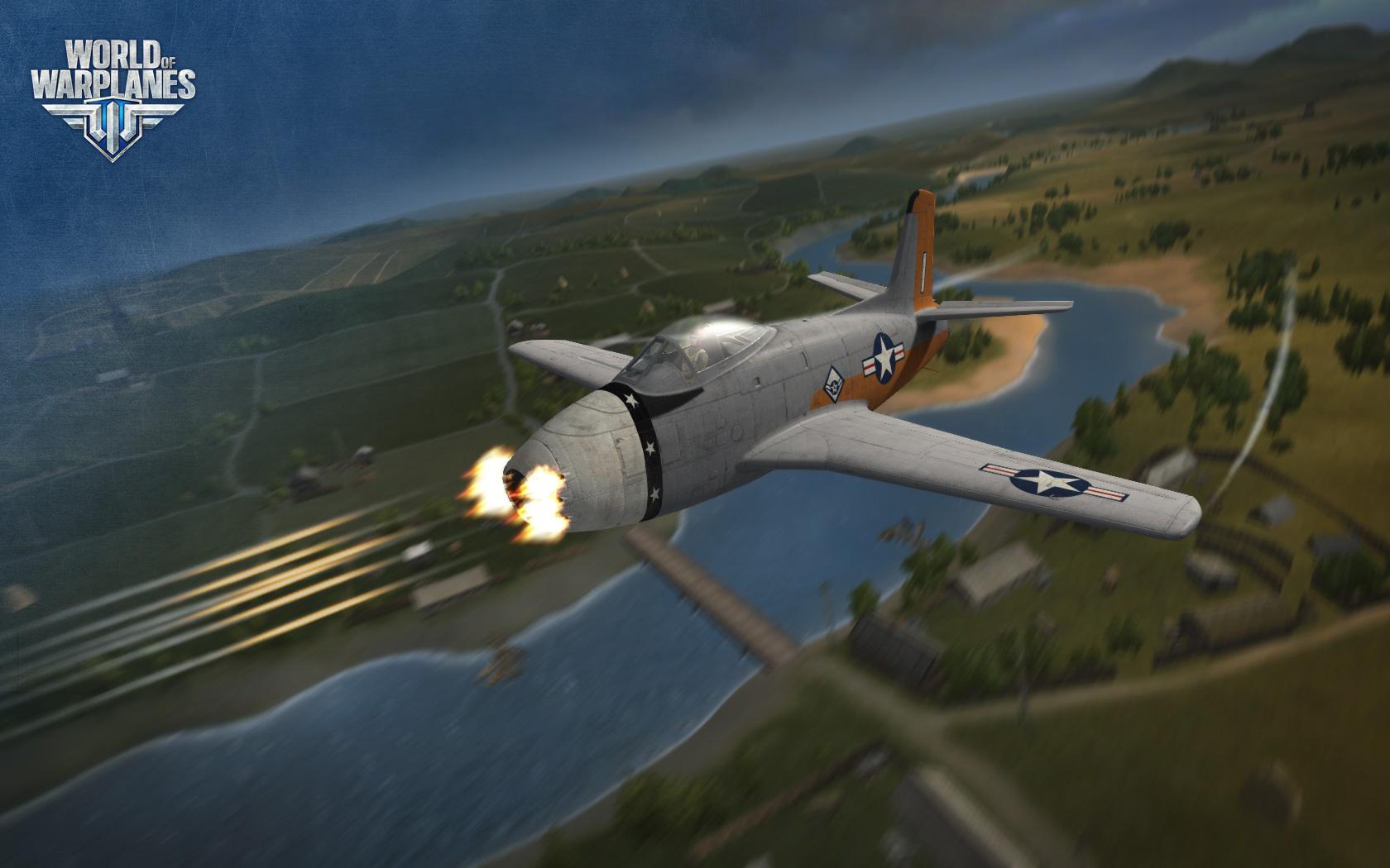 World of Warplanes s americkými letouny 67005