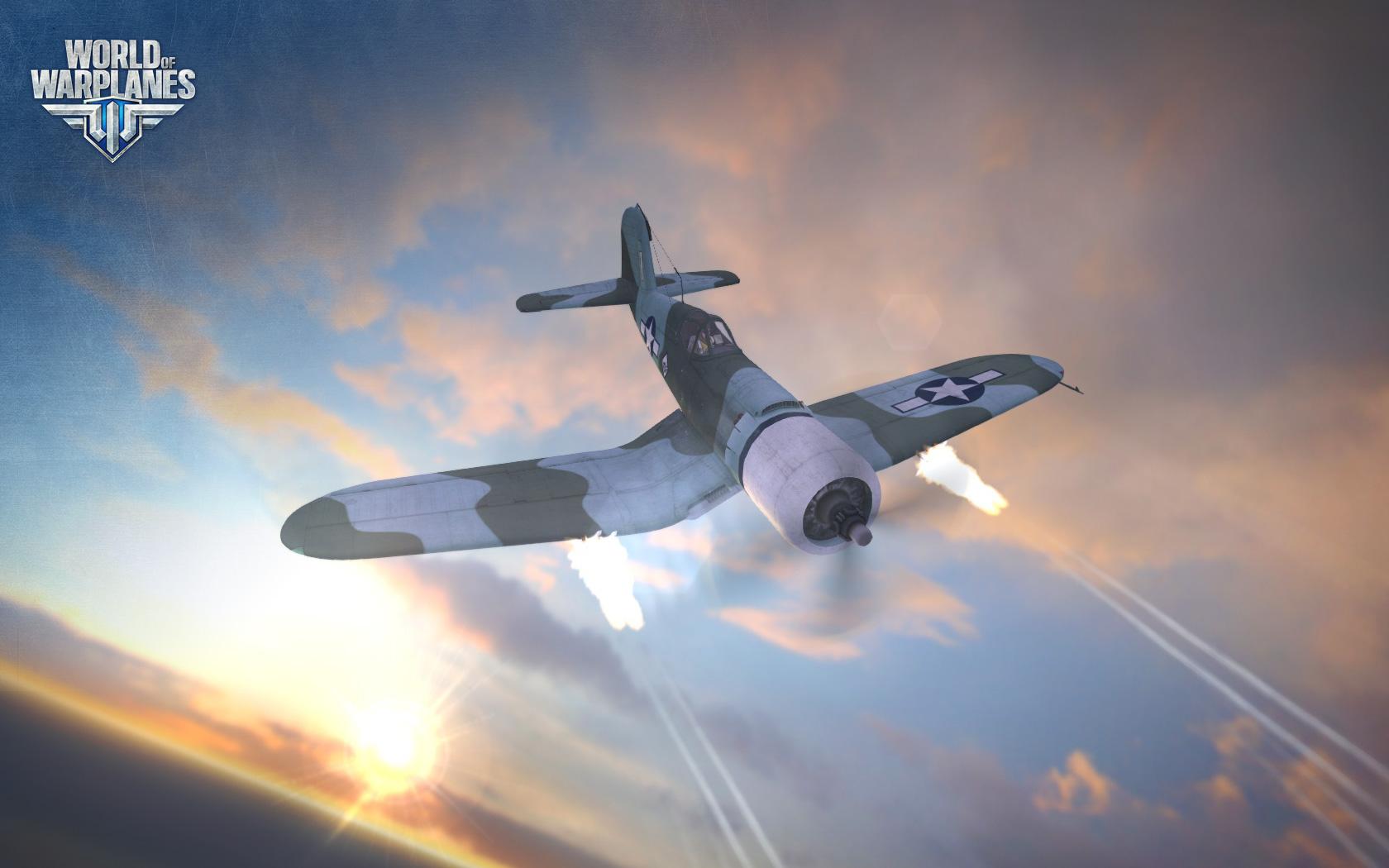 World of Warplanes s americkými letouny 67006