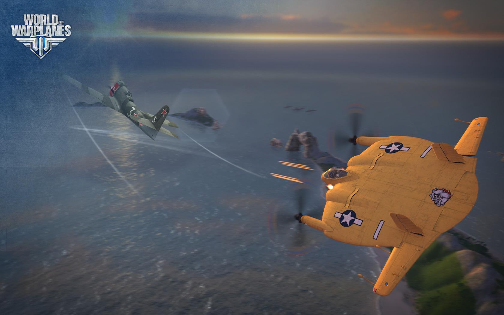 World of Warplanes s americkými letouny 67007