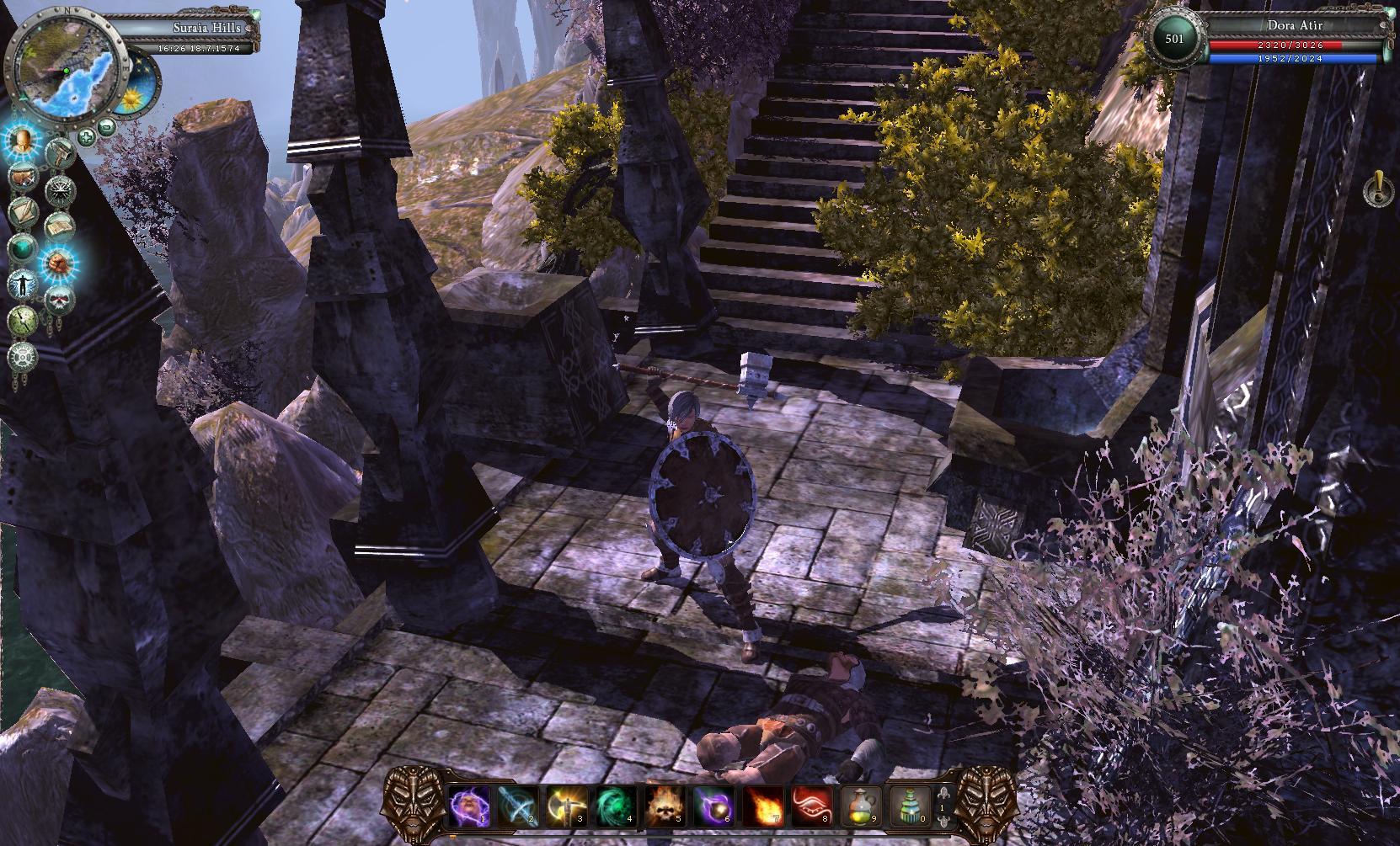 Oznámeno fantasy RPG Legends of Dawn 67021