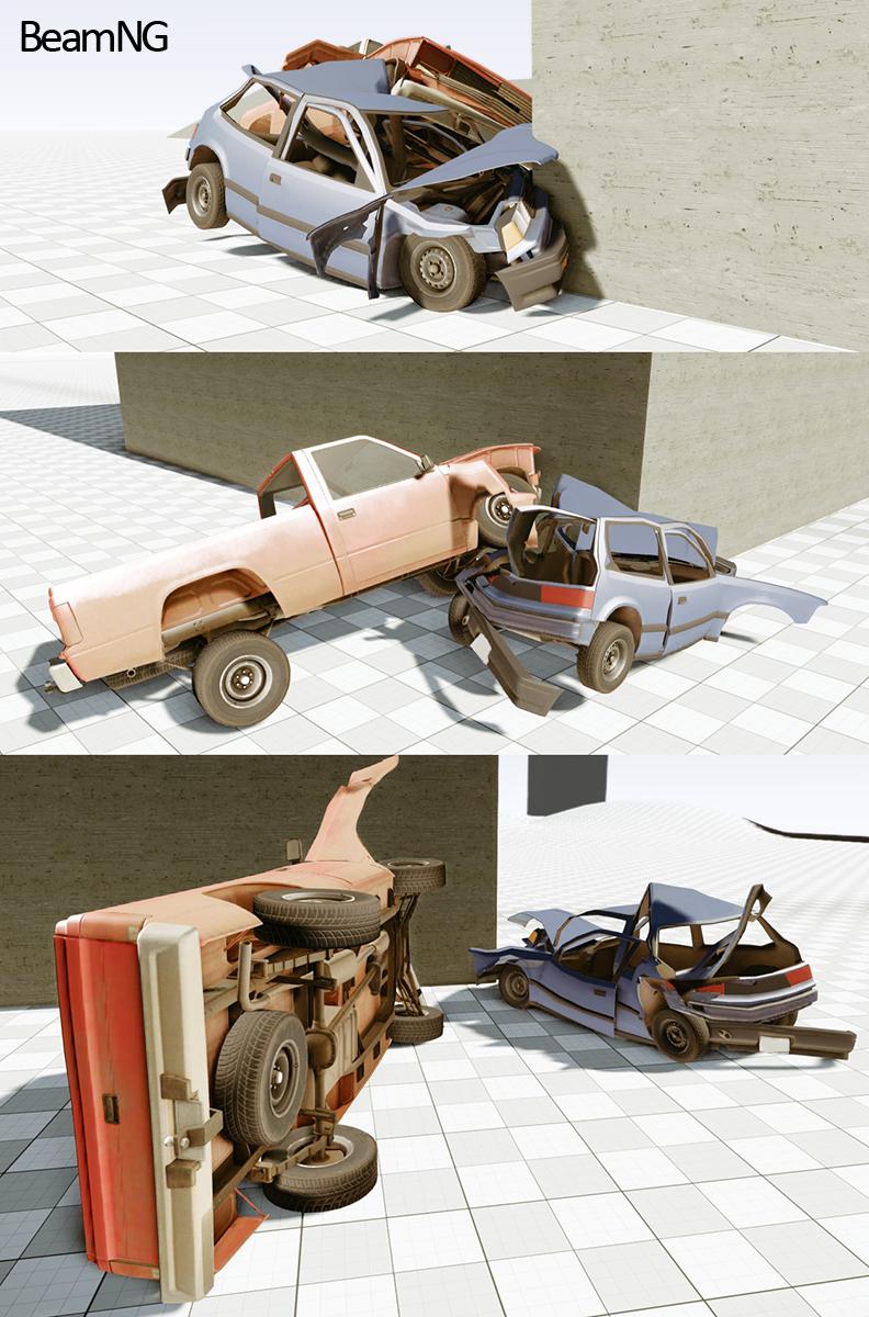 Obrázky z deformace vozidel v CryEngine 3 67027