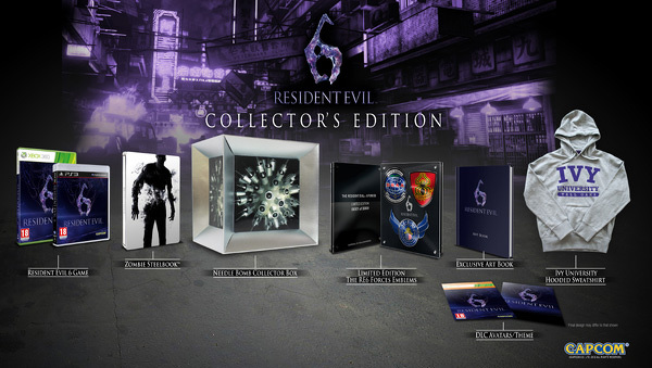 Odtajněna sběratelka Resident Evil 6 67048