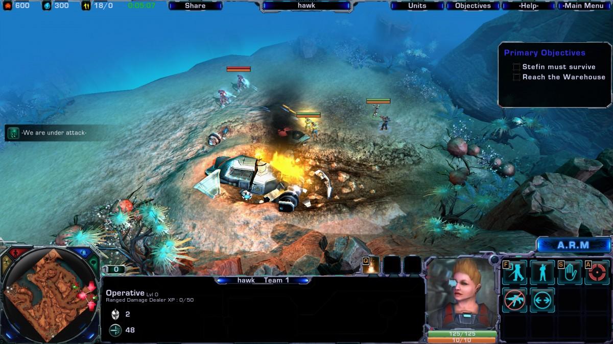 Těšte se na novou sci-fi RTS Tryst 67065
