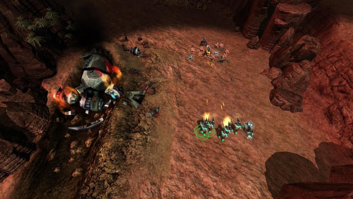 Těšte se na novou sci-fi RTS Tryst 67066