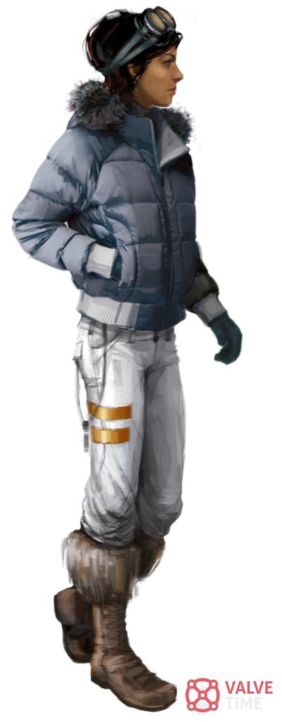 Na internetu se objevila série artworků Half-Life 2: Episode Three z roku 2008 67236