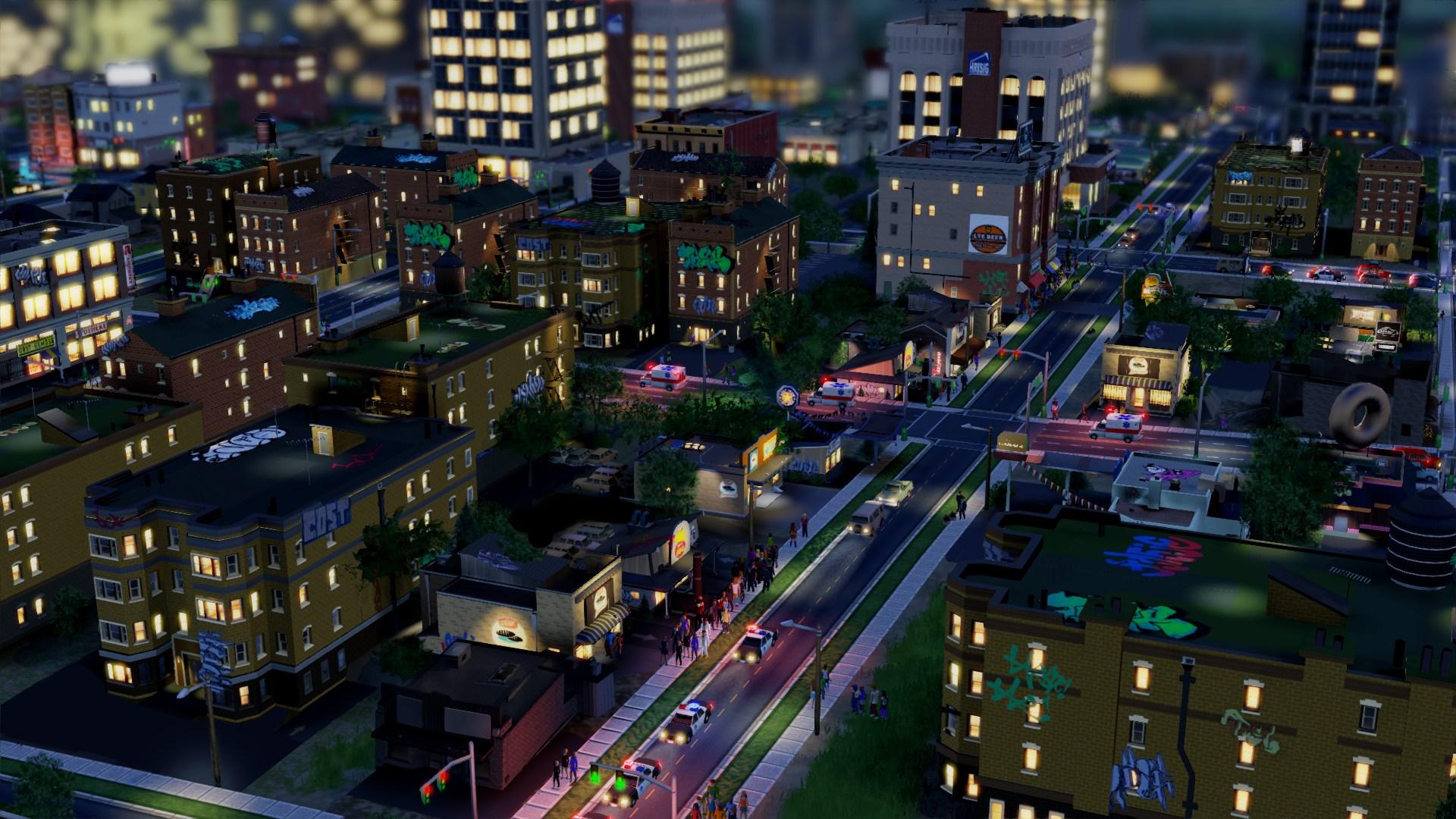 Dva obrázky ze SimCity 67315