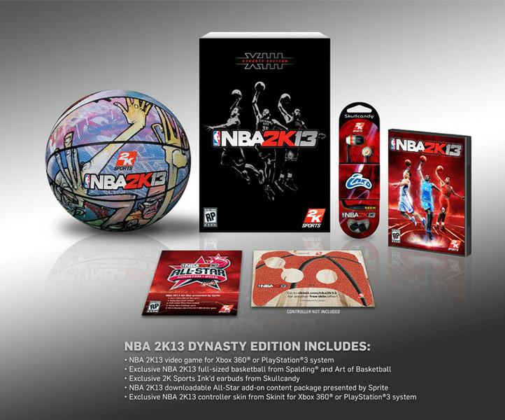 Známe sběratelskou edici NBA 2K13 67323