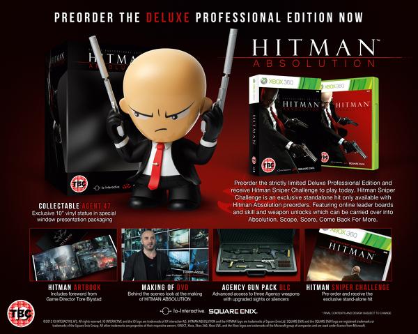 Odhalena Hitman: Deluxe Professional Edition 67475