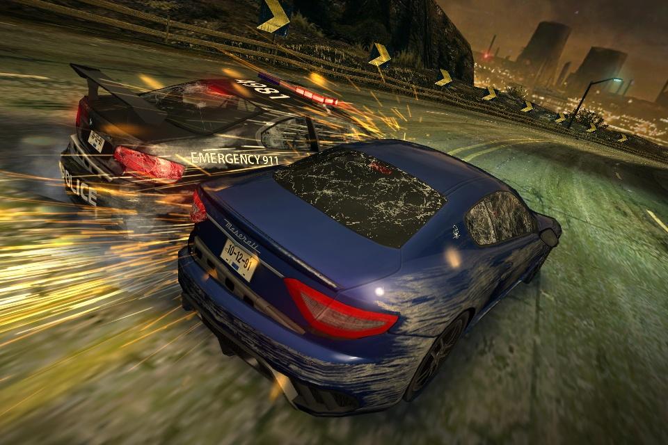 První obrázky a gameplay z iOS verze NFS: Most Wanted 67814