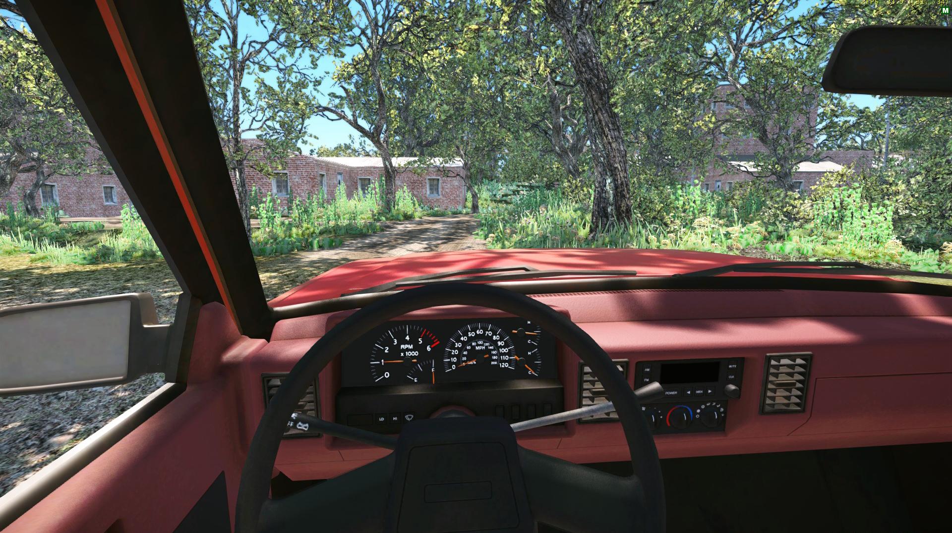 Ukázka z deformace vozidel v CryEngine 3 67852