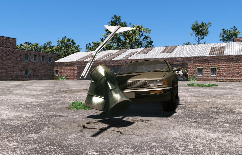 Ukázka z deformace vozidel v CryEngine 3 67854