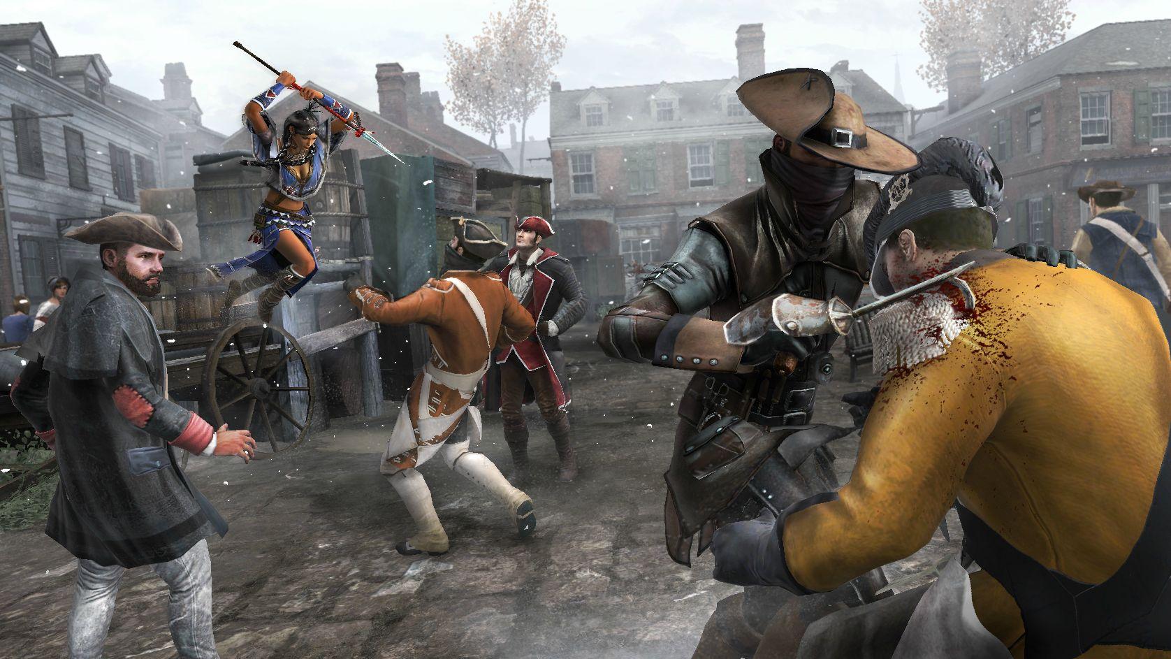 Komentovaná procházka Bostonem v Assassin's Creed 3 68052