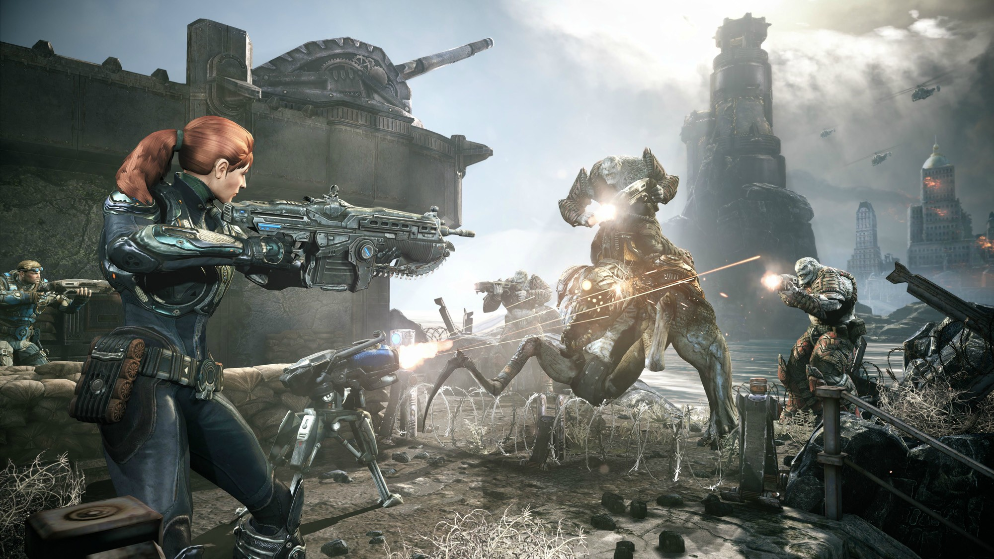 Gears of War: Judgment v multiplayerovém nášupu 68101