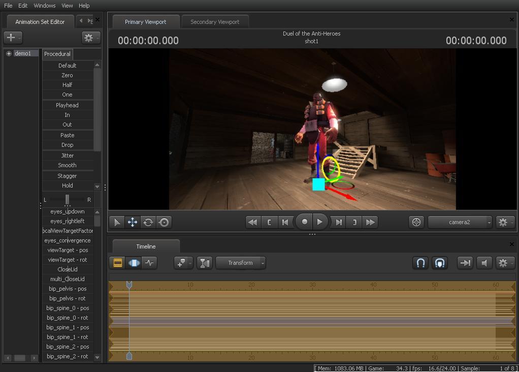 Dvojí dojmy ze Source Filmmaker aneb co vlastně nabízí nový program od Valve 68125