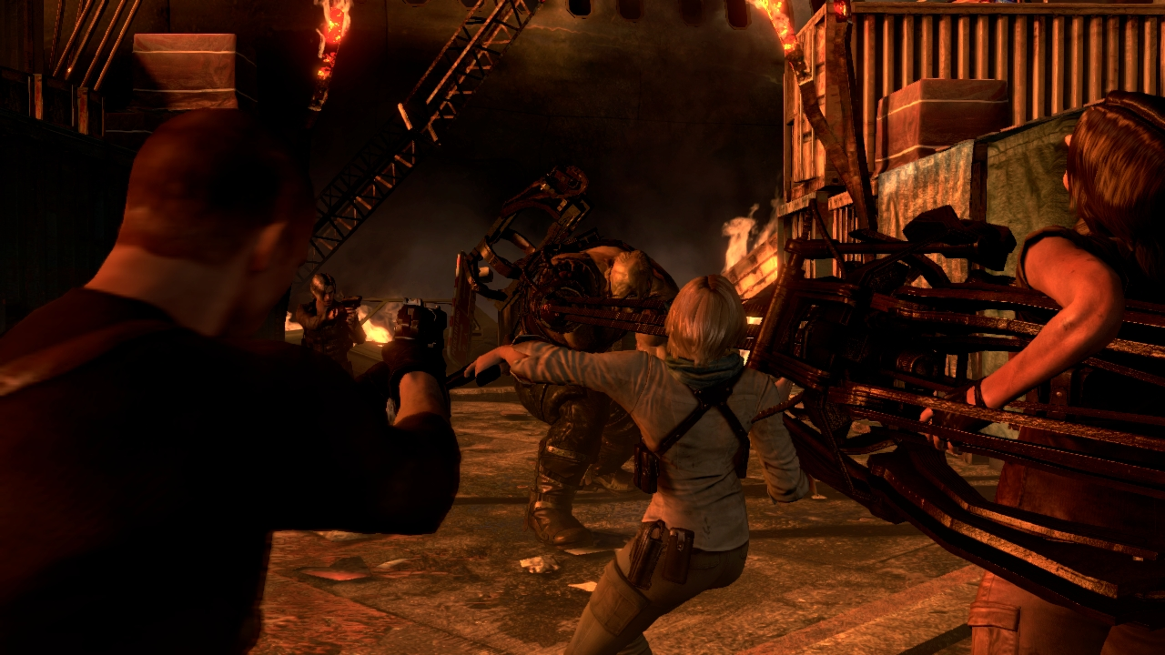 Nové gameplay záběry z Resident Evil 6 68209