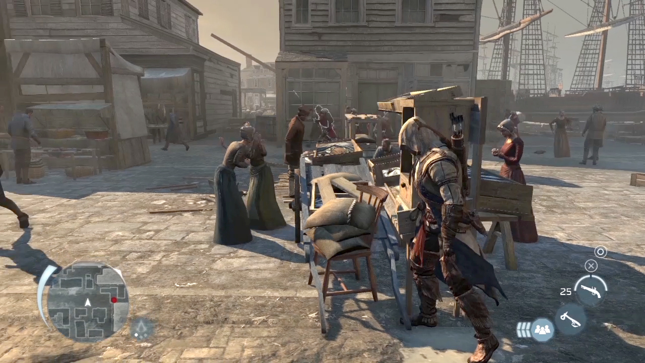 Obrázky Bostonu z Assassin's Creed 3 68235