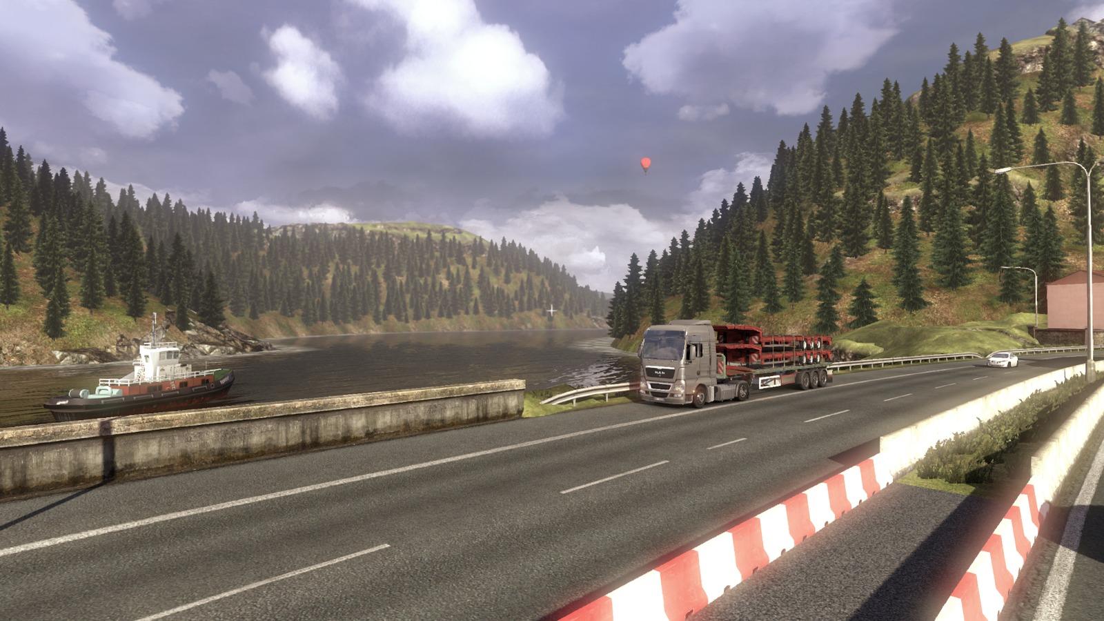 Euro Truck Simulator 2 předvádí kamiony a prostředí 68271