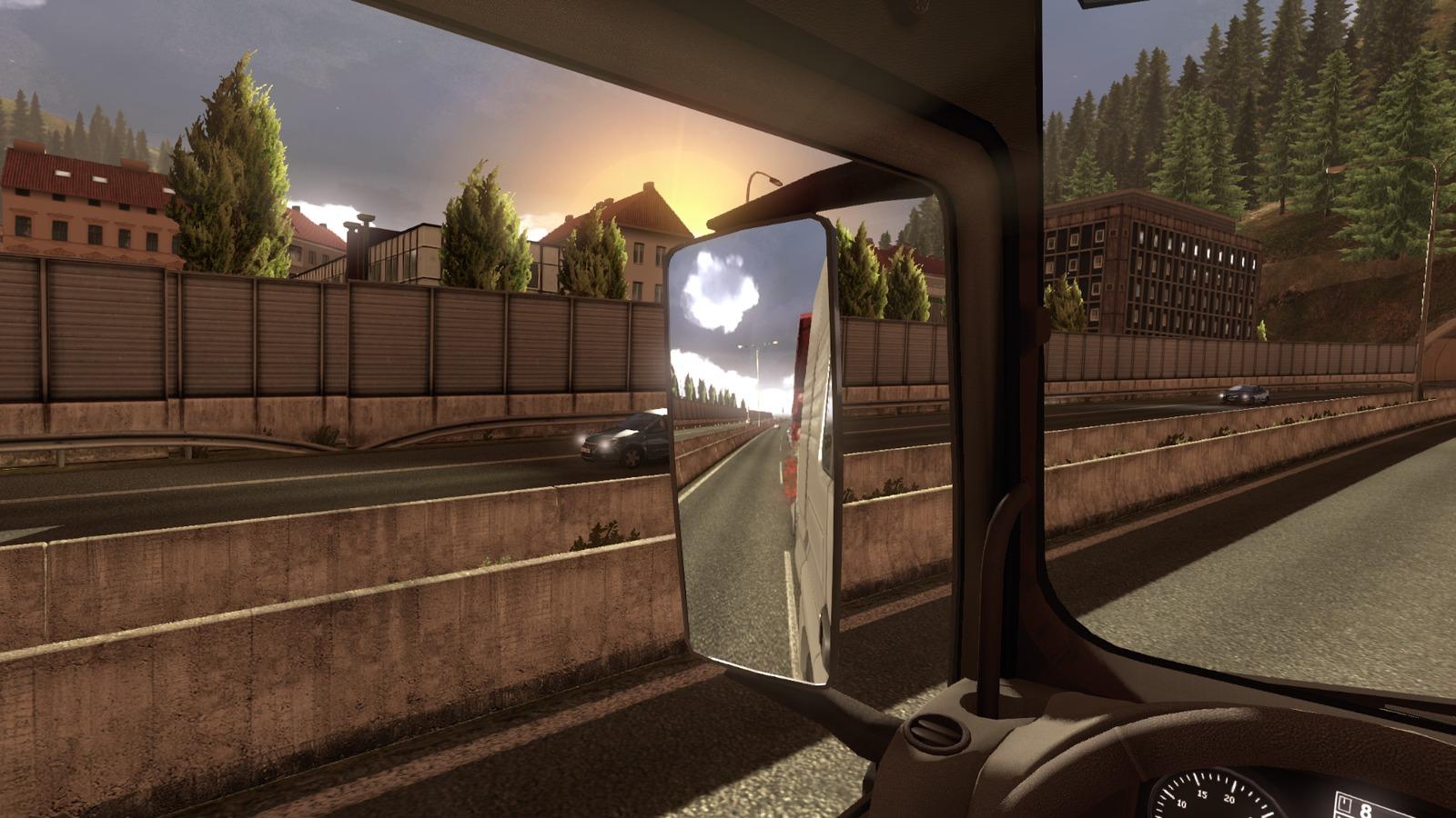 Euro Truck Simulator 2 předvádí kamiony a prostředí 68272
