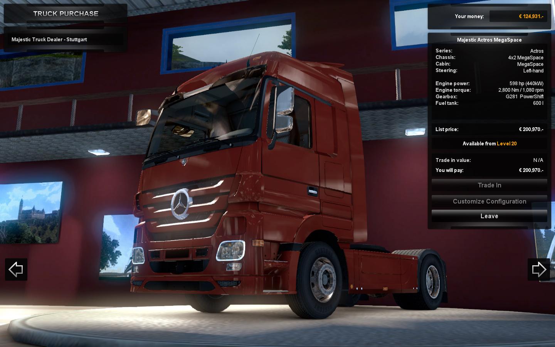 Euro Truck Simulator 2 předvádí kamiony a prostředí 68275