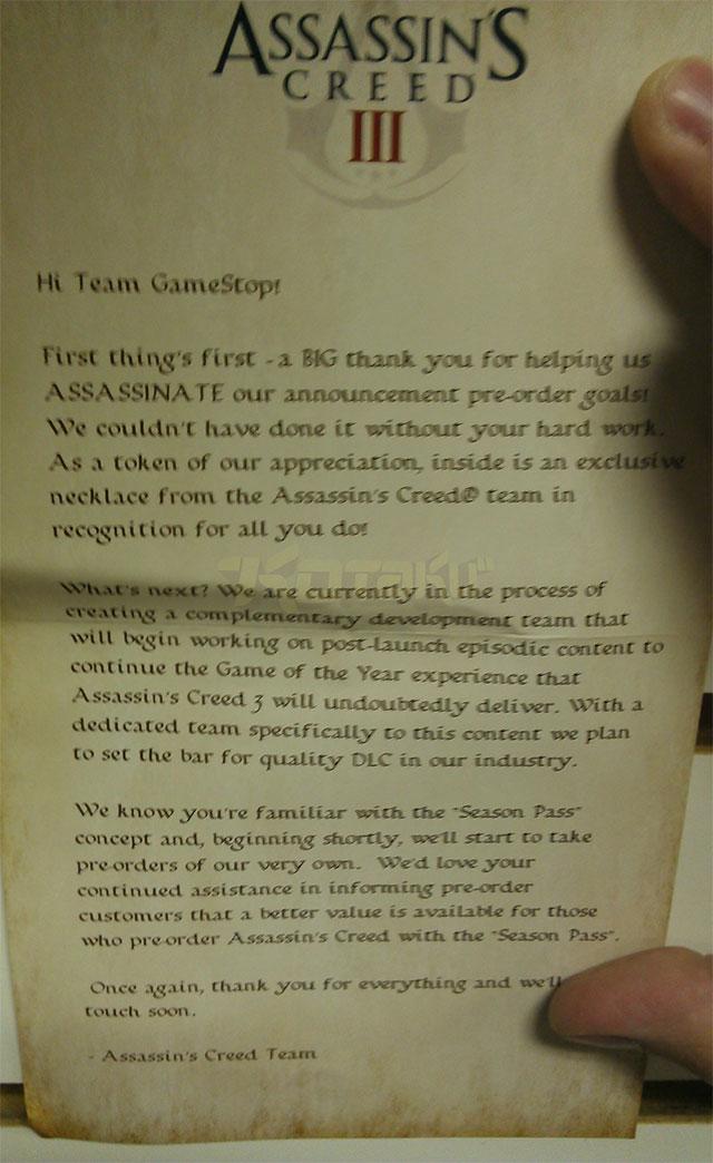 Assassin's Creed 3 čeká rozsáhlá podpora DLC 68290