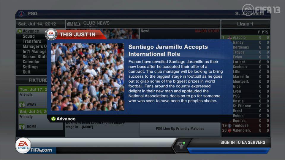 Ve FIFA 13 zažijete kariéru i s národním týmem 68297