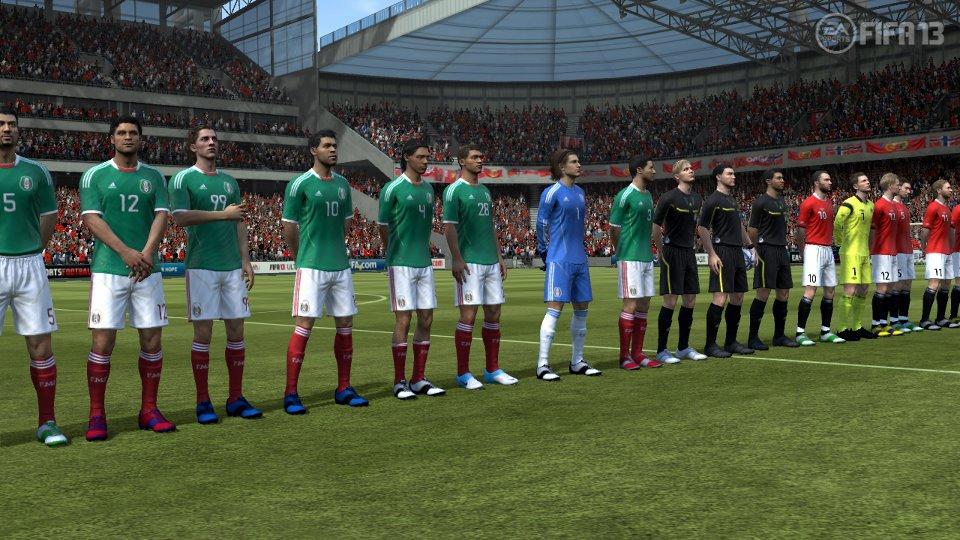 Ve FIFA 13 zažijete kariéru i s národním týmem 68299