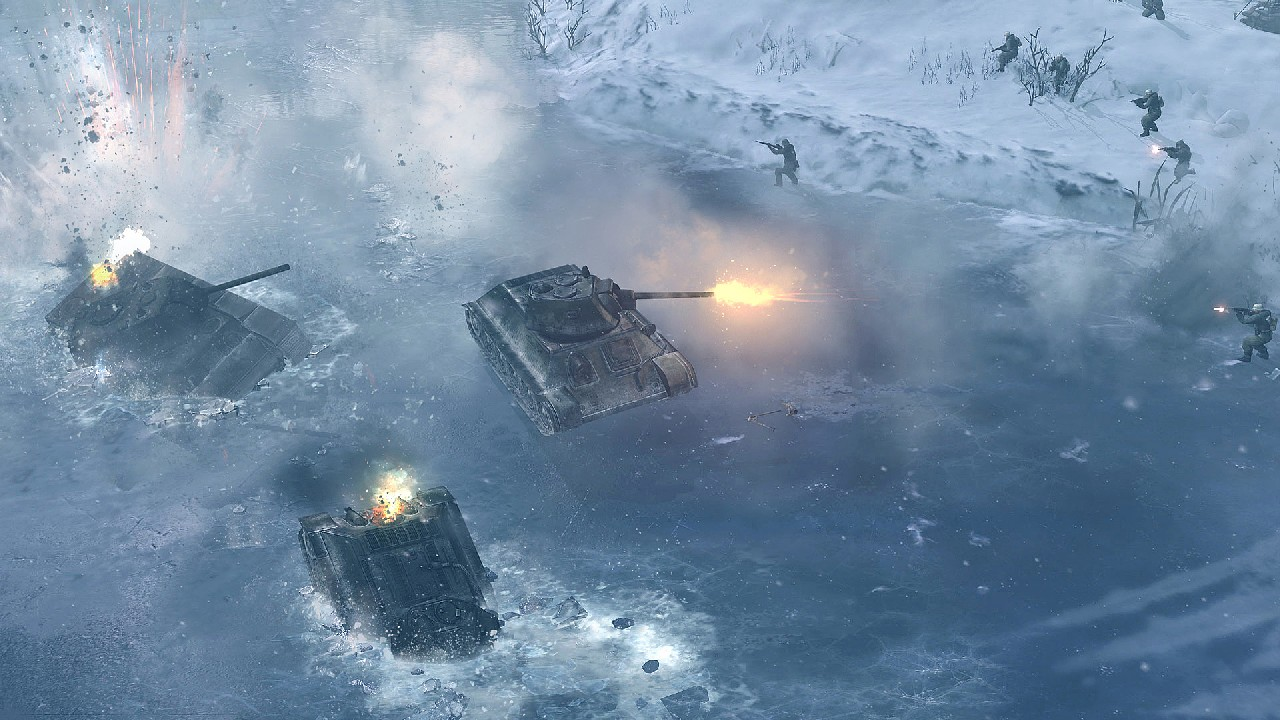 Extrémní zima v Company of Heroes 2 bude zabíjet 68353