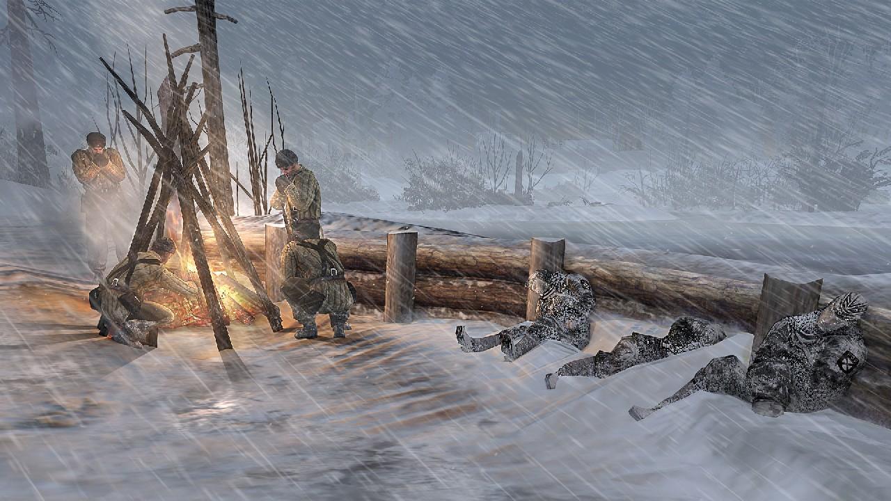 Extrémní zima v Company of Heroes 2 bude zabíjet 68354