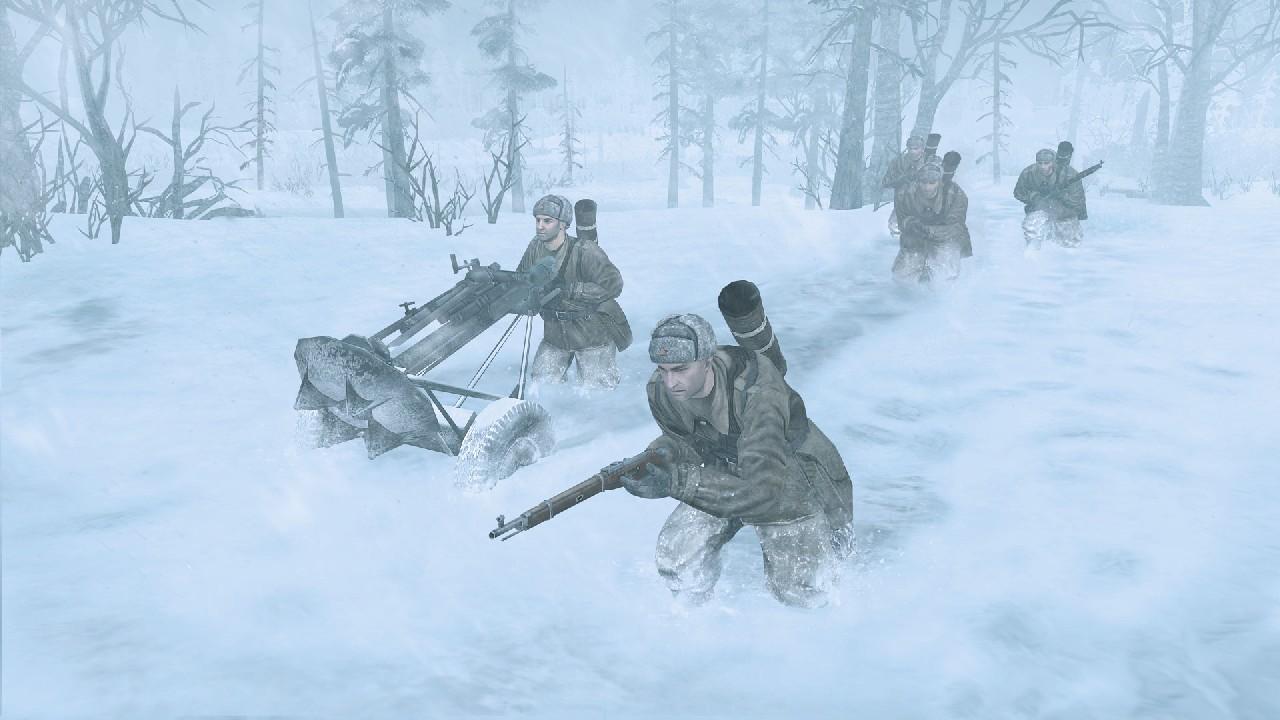 Extrémní zima v Company of Heroes 2 bude zabíjet 68356